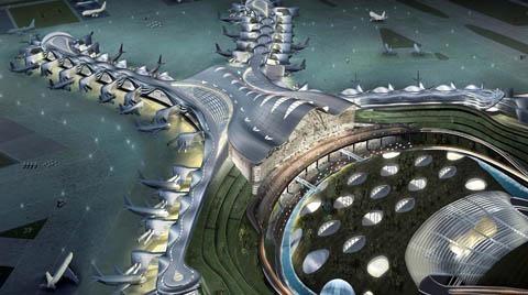 Dünyanın En Büyük Terminalinin İnşaatı için DOKA Tercih Edildi