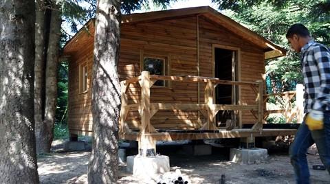 Uludağ'a Kampçılar için 200 Ahşap Ev