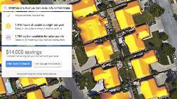 Google'ın Yeni Projesi Sunroof, Güneş Enerjisinin Haritasını Çıkaracak