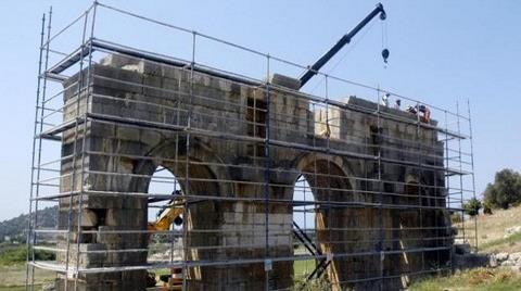 Antik Patara Takı Restorasyona Alındı