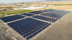 Sertifikalı Güneş Enerjisi Santrali Kuruldu