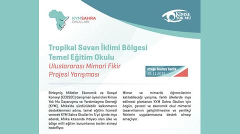 Tropikal Savan İklimi Bölgesi Temel Eğitim Okulu Uluslararası Mimari Fikir Projesi Yarışması