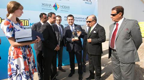 BTM Grubu Kazakistan'da Büyüyor