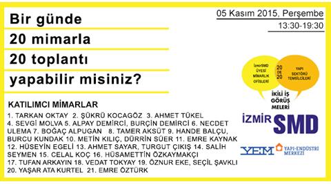 İzmirSMD İkili İş Görüşmeleri