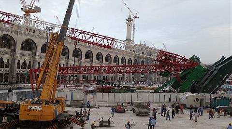 İşte Mekke'deki Vinç Kazasının Boyutları!