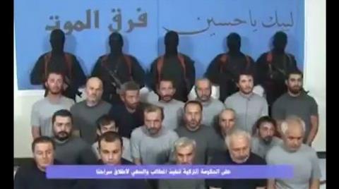 Irak'ta Kaçırılan İşçilerin İlk Görüntüleri Yayınlandı