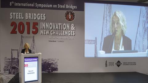 Çelik Devleri, 8. Çelik Köprüler Sempozyumu İçin İstanbul'da