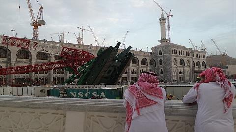 Mekke'deki Vinç Kazası için Tazminat Ödenecek
