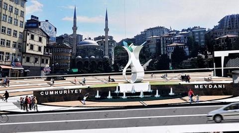 Rize'de Meydan Tartışması