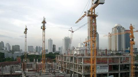 İnşaat Sektörü 2015'in İkinci Çeyreğinde Yüzde 2 Büyüdü