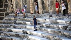 Aspendos Restorasyonuna 'Mutfak Mermeri' Eleştirisi