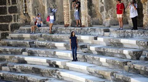 """""""Aspendos Restorasyonunda Tartışılacak Bir Konu Yok"""""""