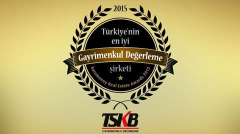 TSKB Gayrimenkul Değerleme'ye Bir Ödül Daha