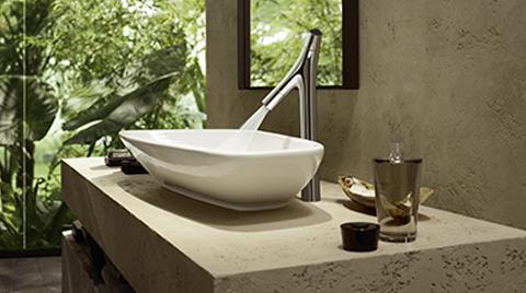 Axor Starck Organic ile Su ve Sıcaklık Ayrı Ayrı Kontrol Edilebiliyor