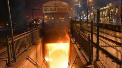 Topkapı Yeraltı Geçidi'ndeki Ucuzluk Çarşısı'nda Yine Yangın