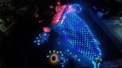 Konya'daki Kelebek Bahçesi LED Armatürlerle Aydınlatıldı