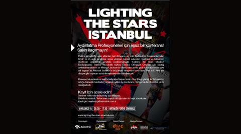 Sahne Aydınlatma Konferansı: Lighting The Stars