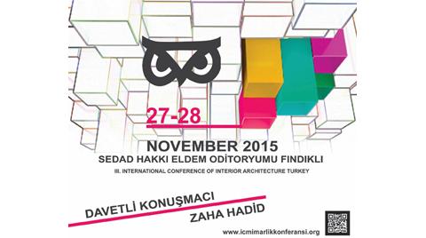 III. Uluslararası İç Mimarlık Konferansı