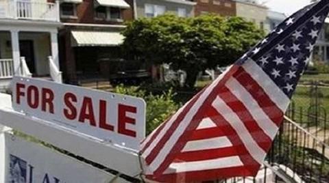 ABD'de 1.El Konut Satışları 10 Ayın En Düşük Seviyesinde