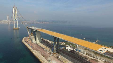 İzmit Körfez Geçiş Köprüsü Mart 2016'da Açılacak