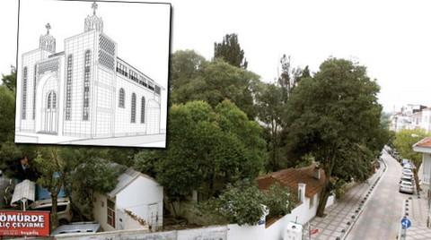 Cumhuriyet'in İlk Kilisesinin Projesi Anıtlar Kurulu'nda