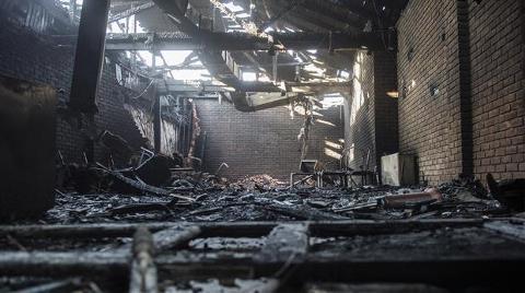 AOÇ Müzesi'nde Yangın