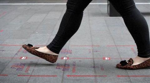 'Hızlı Yürüme Şeridi' Açıldı