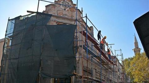 Bergama'da Restorasyon Sürüyor