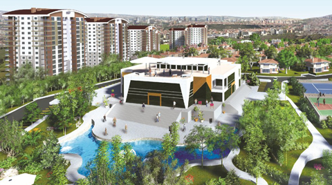 Ankara'ya 3 Kilometrelik Bisiklet Parkuru Yapacak