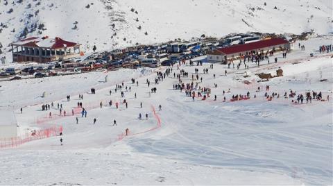 """Yıldız Dağı'na """"Buz Park"""" Projesi"""
