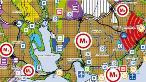 Basın Ekspres Yolu'nun İstanbul 1/100.000 ölçekli Çevre Düzeni Planı içindeki durumu