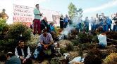 Geriş'te RES'E Karşı Piknikli Eylem
