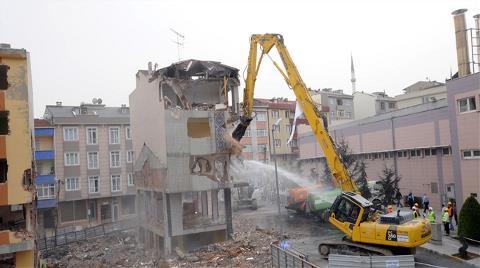 Gaziosmanpaşa'da Dava Açanlara Yıkım Tebligatı