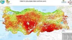 Türkiye'nin Çölleşme Risk Haritası Oluşturuldu