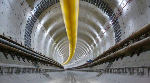 """Avrasya Tünel Geçişi """"Yılın Projesi"""" Seçildi"""