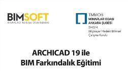 ArchiCAD 19 ile BIM Farkındalık Eğitimi