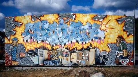 Grafiti Eseri 'Kültür Varlığı' Oldu