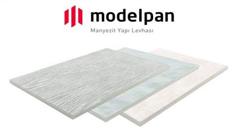 Türkiye'nin İlk Manyezit Yapı Levhası Modelpan