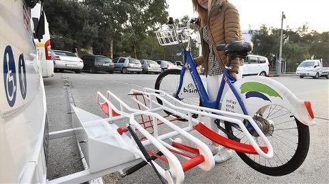 İzmir'de Bisikletli Otobüs Dönemi