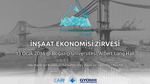 Boğaziçi Üniversitesi İnşaat Ekonomisi Zirvesi