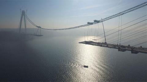 3. Boğaz Köprüsünde Birleşmeye 391 Metre Kaldı