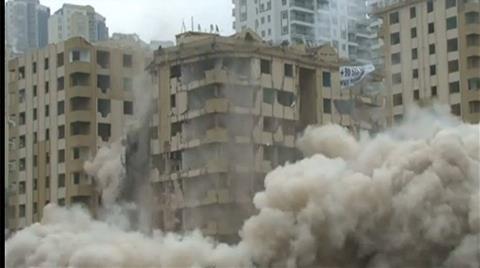 'Depreme Dayanıksız' Raporu Verilen Bina Dinamitle Bile Yıkılmadı