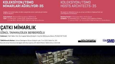Koleksiyon/TSMD, Çatkı Mimarlık'ı Ağırlıyor