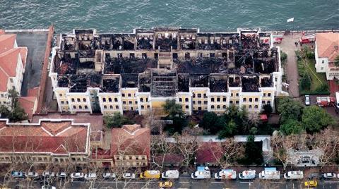 Galatasaray Üniversitesi'nin Tarihi Binası Üç Yıldır Restorasyon Bekliyor