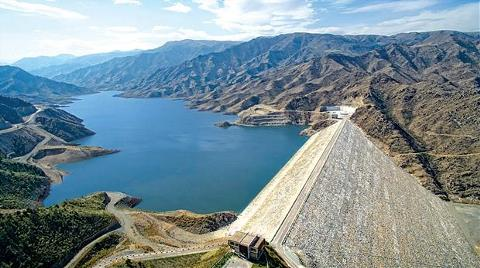 Azerbaycan'a Türk Barajı