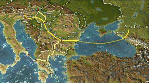 'Rusya Güney Akımı'na Yeniden Başlayacak'