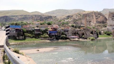 Hasankeyf'te Evlere 'Boşaltın' Yazısı Gönderildi, Yer Gösterilmedi