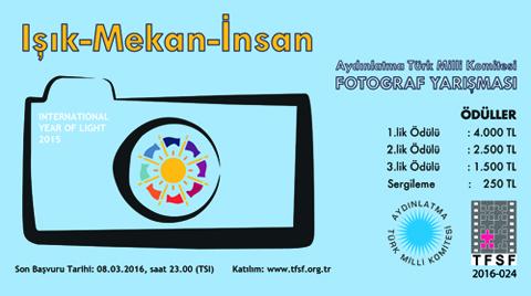 ATMK, 2015 Işık Yılı Anısına Fotoğraf Yarışması Düzenliyor