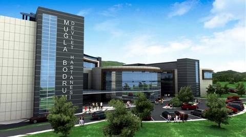 Bodrum'a Yeni Hastanede İlk Adım