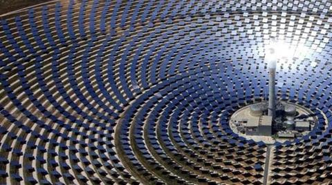 Dünyanın En Büyük Güneş Enerjisi Santrali için İlk Adım Tamamlandı